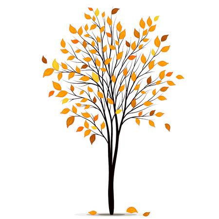 vecteur Arbre d'automne