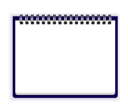 notebook paper: Notebook paper Illustration