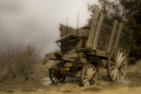 Wagon Lost in Time