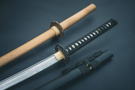 Katana Bokken traditional Japanese sword