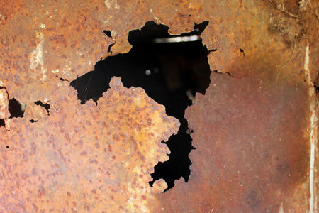 corrosion: Metal corrosion. Rusty metal surface. Background image.