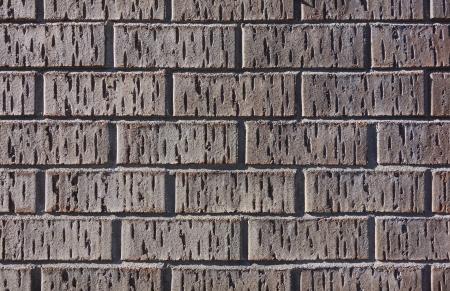 Brick Wall Close up  Texture of Brown Brick Wall