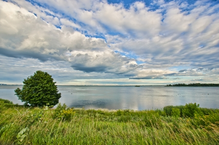 Saint-Lawrence River, between Montreal and Lasalle.