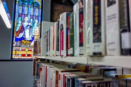 transformed: An old church transformed into a libray in Montreal