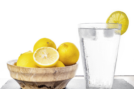 faded: Water with lemon (Vintage faded filter)