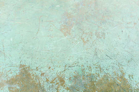 Grunge green background with scratches Banco de Imagens - 65099556
