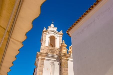 Santo Antonio Church in Lagos, Portugal 版權商用圖片