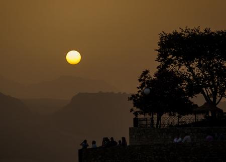 Rondas sunset