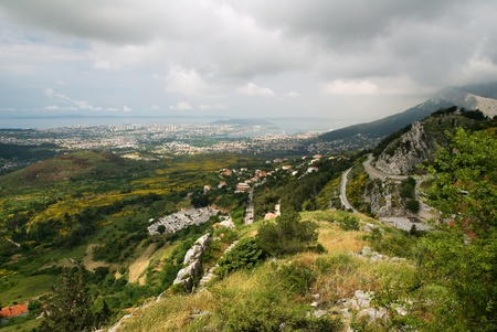 agglomeration: The view from the fortress Klis