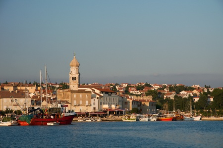 krk: Krk city,Croatia Editorial