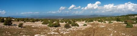 krk: Landscape on the island of Krk Stock Photo