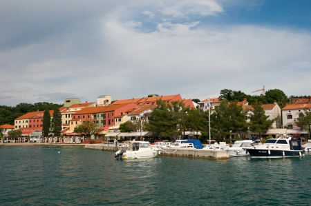 krk: Coast in Njivice, island Krk