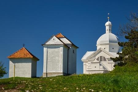 Chapel on the Holy Hill, Czech republic