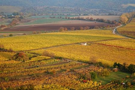 Autumn landscape in the Czech Republic Stock Photo