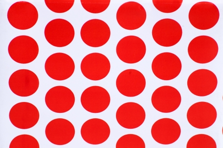 lunares rojos: Lunares rojos sobre fondo blanco