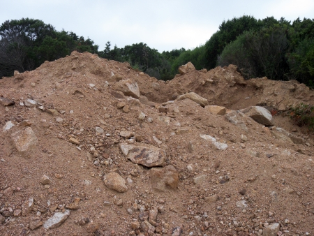 mound of earth photo