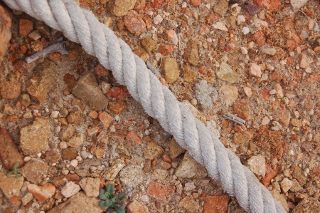 old rope photo
