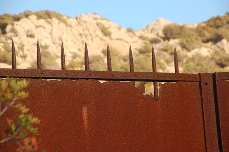 gate with rust 2