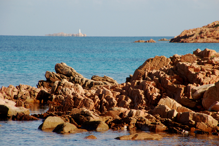 海の花崗岩