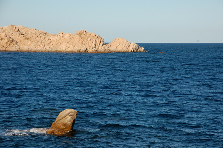 rocks from the sea
