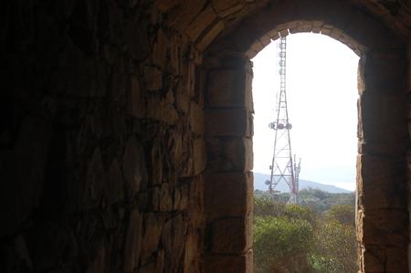 frame of an antenna Stock fotó