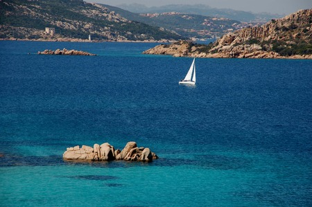 sea ??landscape in the coasts of Sardinia ()