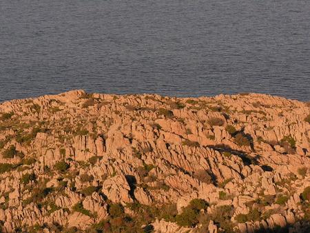 granite and sea Stock fotó