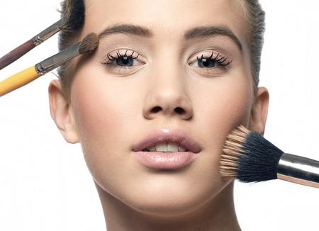make up face: Cosmetics