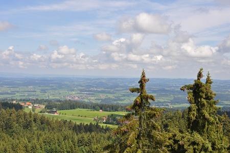 View over Bavaria in the Allgäu Stock Photo - 11790379