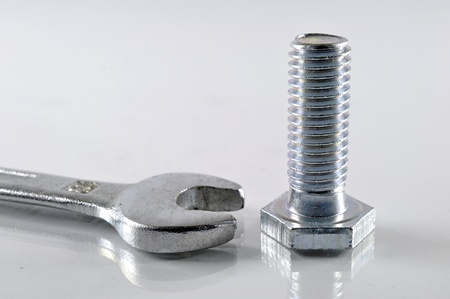 Wrench and Bolt Stock Photo - 12552106