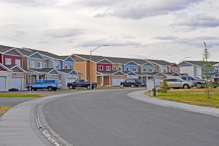 residential idyll: Residential area in America Editorial