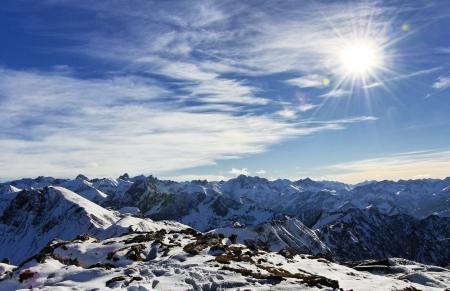 treeline: mountain scenery