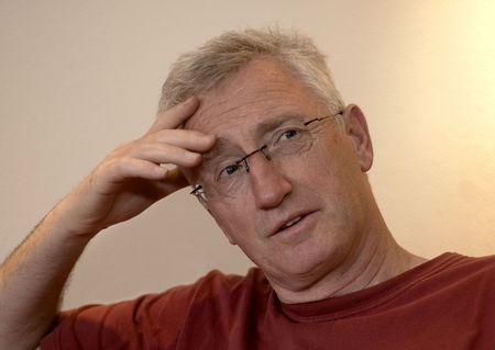 Senior man thinking about something Stock Photo - 409878