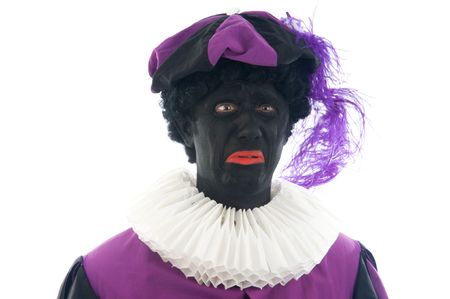 Zwarte Piet is a Dutch tradition during  Stock Photo - 5653670