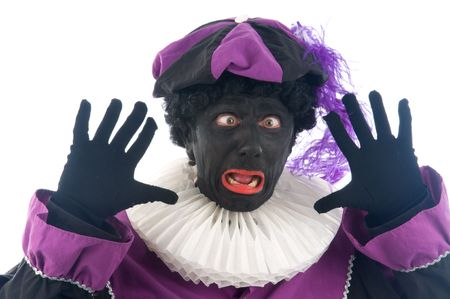 Zwarte Piet is a Dutch tradition during  Stock Photo - 5653657