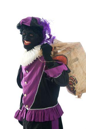 zwarte: Zwarte Piet is a Dutch tradition during