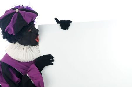 zwarte piet: Zwarte Piet is a Dutch tradition during
