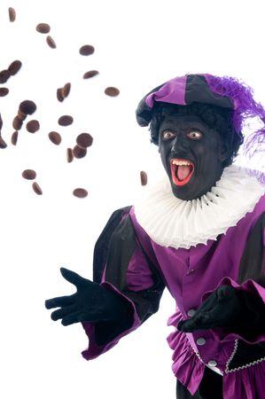gingernuts: Zwarte Piet is a Dutch tradition during