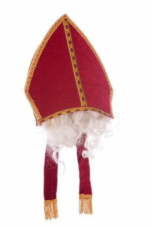 studioshoot: The mitre of Saint Nicholas. Stock Photo
