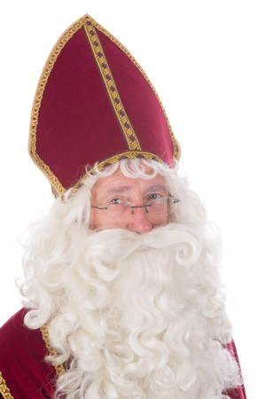 Portrait of Sinterklaas, a Dutch tradition which is celebrated at December 5th. Stock Photo - 7845890