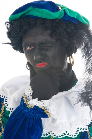 black pete: Zwarte Piet is a Dutch tradition during Sinterklaas, which is celebrated in December the fifth.
