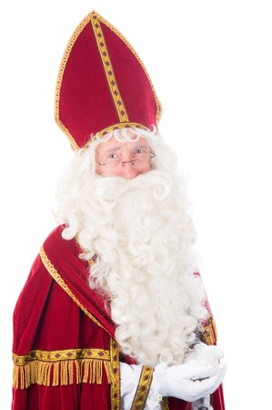 Portrait of Sinterklaas, a Dutch tradition which is celebrated at December 5th. Stock Photo - 7845910