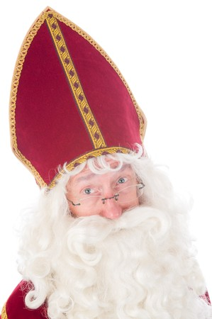 Portrait of Sinterklaas, a Dutch tradition which is celebrated at December 5th. Stock Photo - 7845908