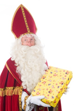 Portrait of Sinterklaas, a Dutch tradition which is celebrated at December 5th. Stock Photo - 7845911