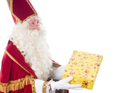 Portrait of Sinterklaas, a Dutch tradition which is celebrated at December 5th. Stock Photo - 7845900