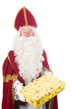 Portrait of Sinterklaas, a Dutch tradition which is celebrated at December 5th. Stock Photo - 7845905