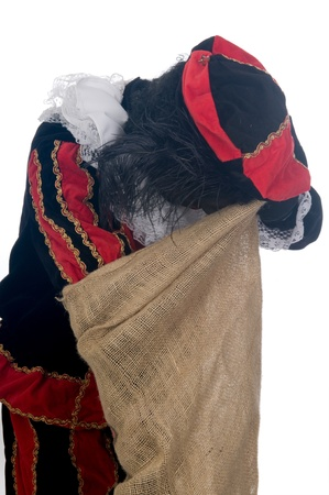sint nicolaas: Zwarte Piet is a Dutch tradition during Sinterklaas, which is celebrated in December the fifth.