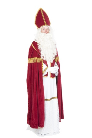 Portrait of Sinterklaas Stock Photo - 16036126