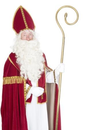 sinterklaas: Portrait von Sinterklaas Lizenzfreie Bilder