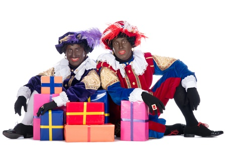 Zwarte Piet is a character, part of a  Dutch tradition called  Sinterklaas , which is celebrated at December the fifth
